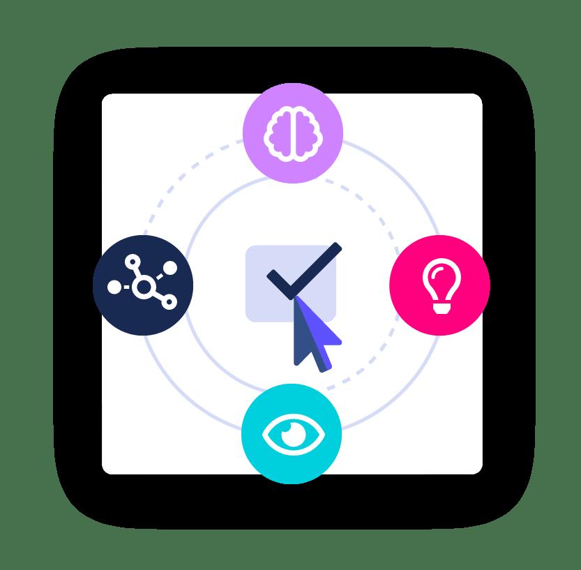 Icon Robotische Prozessautomatisierung